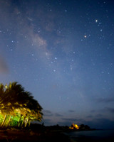 Southern Stars at Dawn in Cozumel, Mexico March 2015