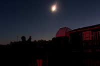 Moonwatching at Hallam Observatory